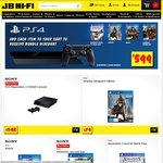 PS4 + AC 4 + The Last of Us Remastered $499, XB1 + 4 Games $549, PS4 + 4 Games $599 @ JB Hi-Fi