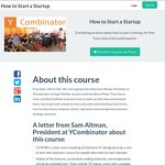 How to Start a Startup from Y Combinator and Stanford Course - Completely Free