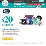 Pet Circle $20 Voucher off Food (Min Spend $50)