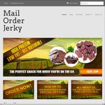 10% OFF All 1kg Beef and Kangaroo Jerky Packs @ Mail Order Jerky