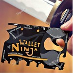 80% off - USD $1.64 (~ $2.02 AUD) Wallet 18 in 1 Credit Card Size Pocket Camping Tool @TinyDeal