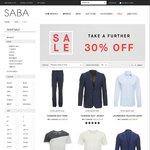 Saba - Take a Further 30% off Sale