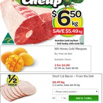 1/2 Price - Deli Short Cut Bacon $8.49 kg @ Woolworths (Ends 25/01)