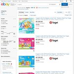 Various Huggies Nappies from eBay Target for $24/Box