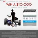 Win a $10000 Lenovo Prize Pack from Lenovo