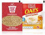 FREE: Uncle Tobys Oats & Oats Seeds @ PINCHme (Wed 17th June)