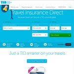 10% off Travel Insurance Direct