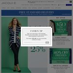 40% off All Dresses at Jacquie