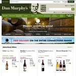 Dan Murphy's - Free Delivery (No Min. Spend) on the Connections Range Inc Spirits, Wine etc