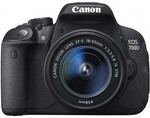 Canon 700D + 18-55mm IS STM Single Lens Kit $540 (after $100 Cashback) + $9.95 Delivery @ Ted's eBay