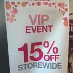 Priceline Sydney Town Hall 15% off Including Sale Items