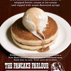 Free pancake short stack the pancake parlour vic no catches save free pancake short stack the pancake parlour vic no catches save 12 ozbargain ccuart Gallery