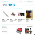 Spare Parts Hub Stock Clearance - Oil/Air Filters from $10, Bulbs $10, Wipers $10
