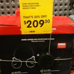 Sony MDR-10RNC + MDR-ZX770BN Noise Cancelling Headphone Bundle $209.30 at Dick Smith