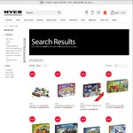 20% off All Full Priced Lego at Myer