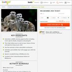 Melbourne Zoo Tickets (Adult) $28 with Isango [Normally $31.60]