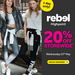 20% off Storewide @ Rebel High Point VIC