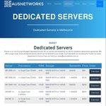Australian $180.00 P/M Dedicated Server and $70.00 P/M Colocation Sale @ AusNetworks.com.au