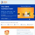 $200 Cashback When You Join CBHS Health Fund