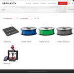 Balco 3D Printing Filament 10% off Discount Code ABS/PLA $31.49 Per Kg + $10.50 Delivery