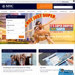 7 Night Caribbean Cruise from $709 Per Person (Twin Share) @ MSC Cruises Australia