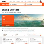 Jetstar Boxing Day Sale E.g. $45 One Way Syd to/from Melb (Tullamarine), $170 One Way Melb to/from Ho Chi Minh City + Much More