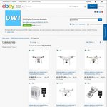 DJI Phantom 3 Standard AU$548.10, DJI Phantom 4 + 2 Extra Batteries AU$1,439.10 Shipped (HK) @ DWI on eBay
