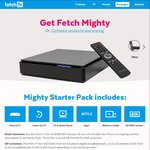 Fetch TV / Optus Yes TV Channel Packs $6/Month Each (Requires FetchTV Box Mighty $399, Mini $149 or $5/Mth with Optus Post Plan)
