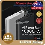 Xiaomi Mi Power Bank 2 10000mAh $24.99 Delivered from AU @ Ozrepairs (eBay)