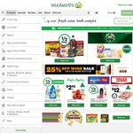 Woolworths Online - Free Delivery This May When You Spend $50, as Many Times as You Like, with Code