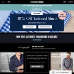 EOFY Special: 30% off Shirts at Tailors Mark