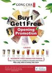 Buy One Get One Free (from Top 10 Drinks) @ Gong Cha Canley Vale NSW