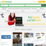 Free Local Unlimited Classified Listing Including Featured Ads for Limited Time @ Connete