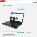 """ThinkPad E570p $1199 (15.6"""" FHD, i7-7700HQ, 8GB, 256GB, GTX1050ti) ThinkPad E570 $909 (i7-7500U, 8GB, 256GB, GTX950M) @ Lenovo"""