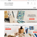 Free Shipping @ Milligram (Formerly Notemaker) on Orders over $29