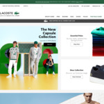 Lacoste 30% off Sitewide (Free Shipping over $150)