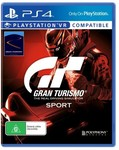 PS4 Gran Turismo Sport $29 @ Harvey Norman