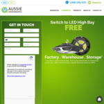 Free Upgrade LED High Bays for Commercial Victoria @ Aussie Greenmarks
