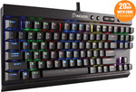 Corsair Gaming K65 RGB Rapidfire Mechanical Gaming Keyboard - Cherry MX Speed $109.60 @ PC Byte eBay