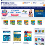Pascal Press - 20% off Storewide + $4.95 Delivery + Free Steve Parish Pencil Pack (RRP $7.70) Per Order