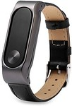 Xiaomi Miband 2 Genuine Leather Fitness Band Watch Strap US $4.00 (AU$5.08) @ Lightinthebox