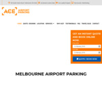 Melbourne Ace Airport Parking - 1 Day Free (No Min Stay) | 2 Days Free (5 Days Min Stay) - (Conditions Apply)