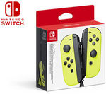 Nintendo Switch Joy-Con Controller Pair Neon Yellow $97.13 Delivered @ Catch eBay