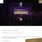 Win 2 Tickets to See Ed Sheeran at Suncorp Stadium + One Nights Accommodation [Open Australia-Wide but Prize Is in QLD]
