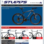 10% off All Studds Bikes at Studds.com.au