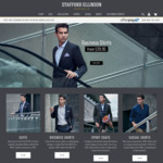 $50 OFF CODE | Suits, Business Shirts & Men's Casual @ Stafford Ellinson