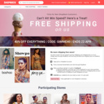 Free Shipping (Funded by Cashback) + CashBack & No Min Spend - ASOS, ICONIC, Nike, Cotton On & More @ ShopBack - New Customers