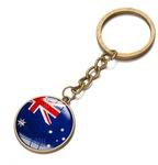 Bronze Australian Flag Keychain US $0.56 (AU $0.82) + $0.03 Shipping @ GearBest