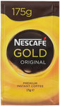 Nescafé Gold Coffee 175g $6, Ferroro Golden Gallery 206g $5 at Reject Shop