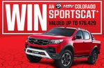 Win a HSV Colorado SportsCat+ Worth Up to $76,429 from Bauer Media